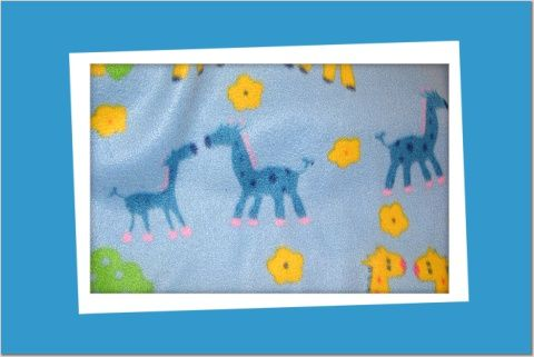 GIRAFFES B28 FLEECE