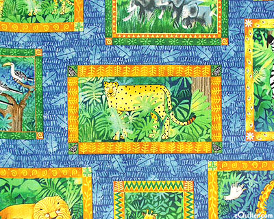 SAFARI PRINTS B24 COTTON