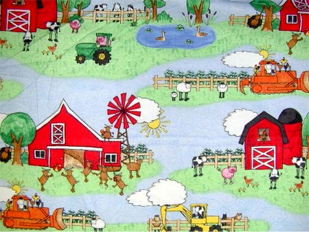 Farmyard - 18  (COTTON)