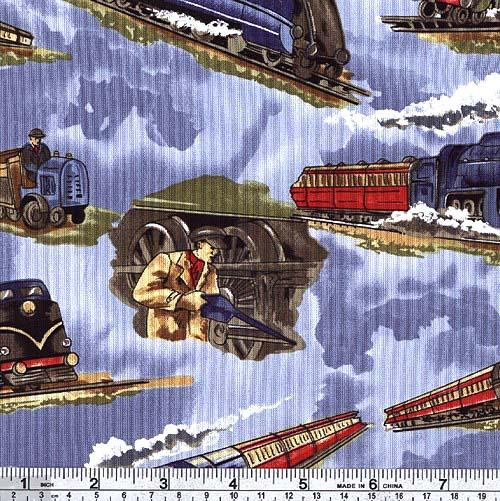 Trains & Engineers - COTTON - B52