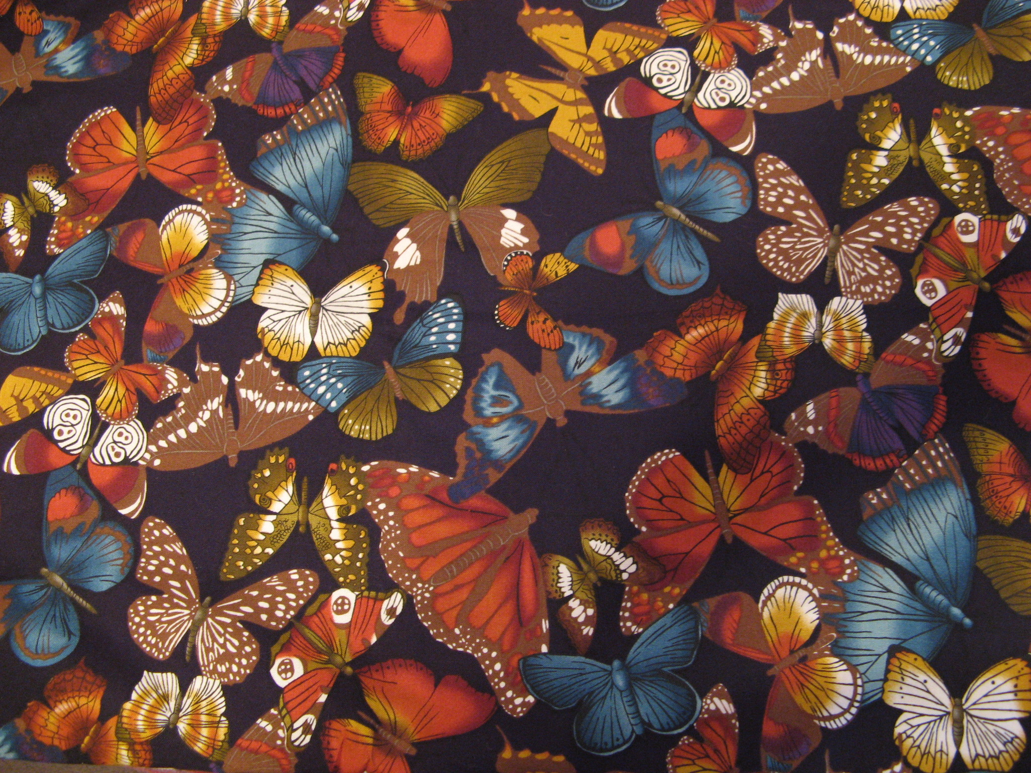 BUTTERFLIES B40 - COTTON