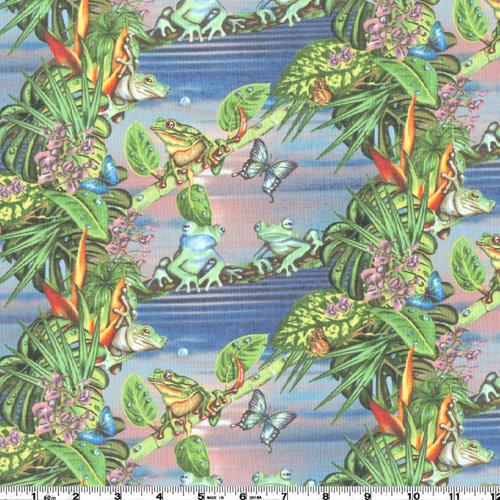 ISLAND CREATURES FROGS - COTTON - 61