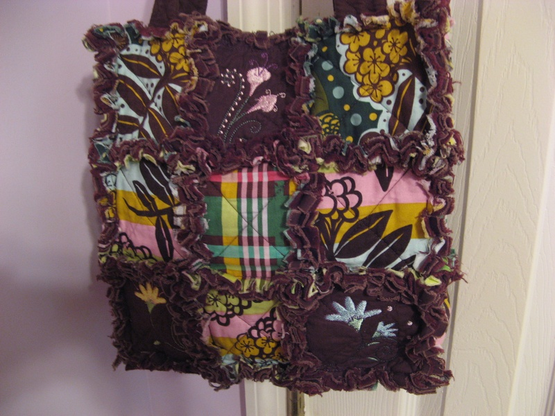 SOLD - 9 Square with Embroidery - $45 + S/H ($7)